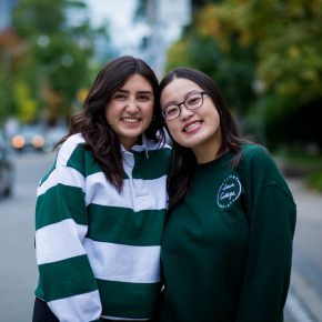 Commuter Reps Breanna Lima and Winsy Leung
