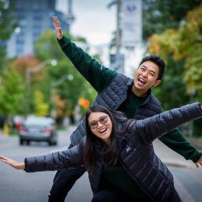 Social Directors Paul Kaita and Effie Liang